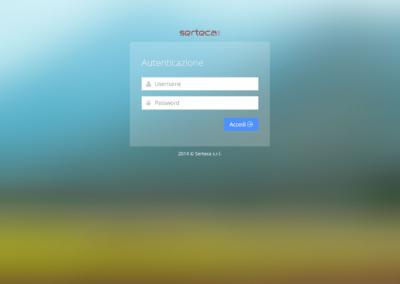 Serteca.it - Ho realizzato solo il pannello amministrativo in PHP