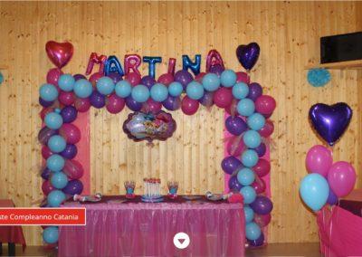 Villa Anzalone - Location per feste per bambini a Catania. Sito realizzato in Wordpress